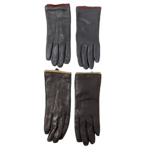 MERONA 2 Pack Leather Gloves M/L